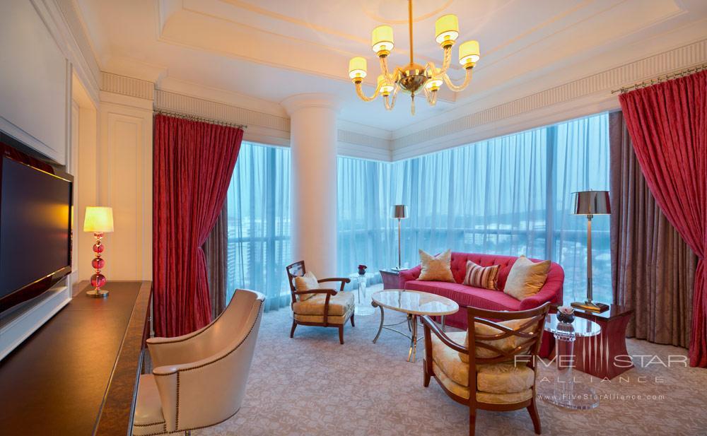 St Regis SingaporeCarolina Astor Suite Family Room