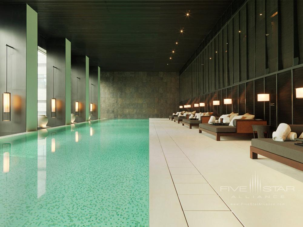 Swimming Pool at The PuLi Hotel and Spa, Shanghai, China