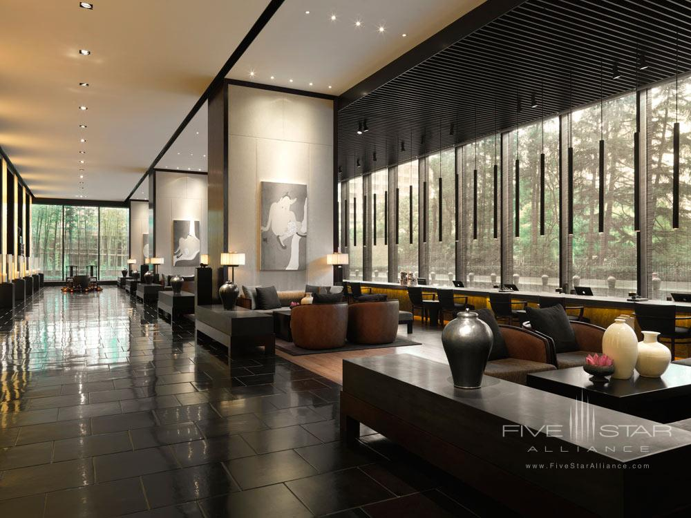 Lobby of The PuLi Hotel and Spa, Shanghai, China
