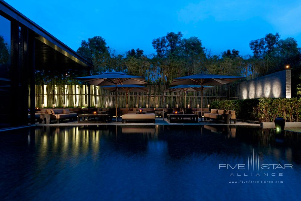 Garden Terrace at The PuLi Hotel and Spa, Shanghai, China