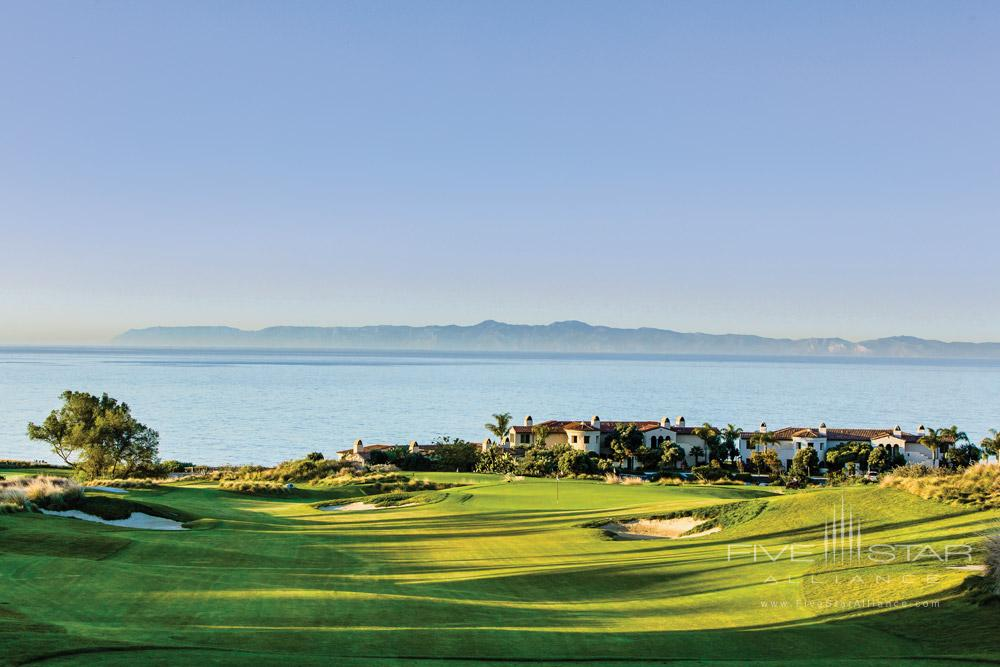 Golf course at Terranea Resort, Rancho Palos Verdes, CA, United States