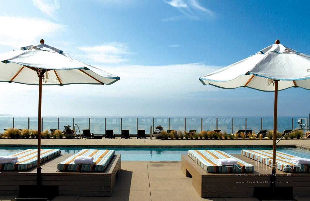 Patio Pool at Terranea Resort, Rancho Palos Verdes, CA, United States