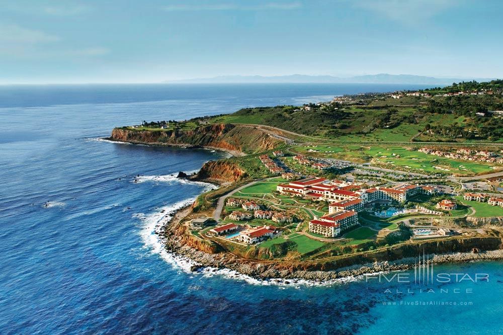 Aerial view of Terranea Resort, Rancho Palos Verdes, CA, United States