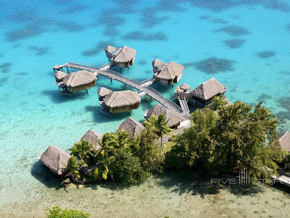Over-water bungalows at Sofitel Bora Bora MararaBora BoraFrench Polynesia
