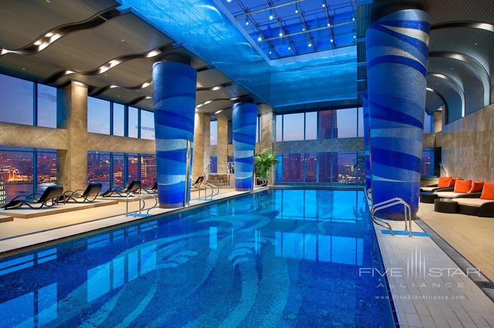Indoor Pool at Grand Kempinski Hotel ShanghaiChina