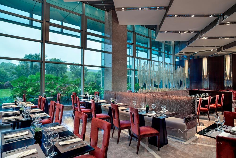 Dining Room at Grand Kempinski Hotel ShanghaiChina