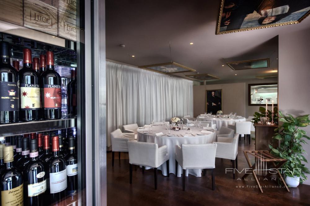 Restaurant at Hotel ll Salviatino FlorenceItaly