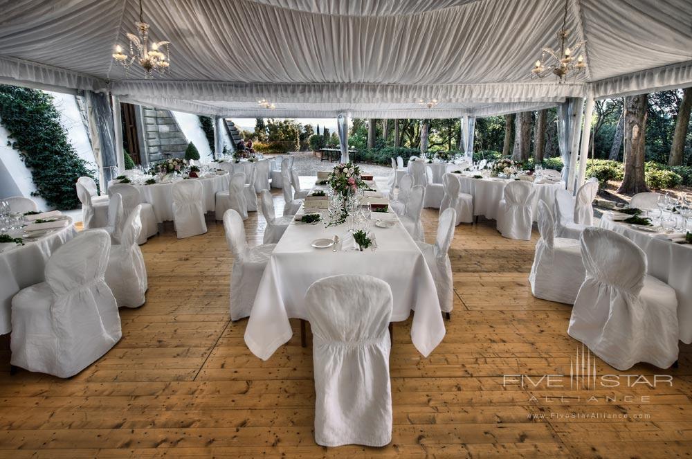 Wedding Reception at Hotel ll Salviatino FlorenceItaly
