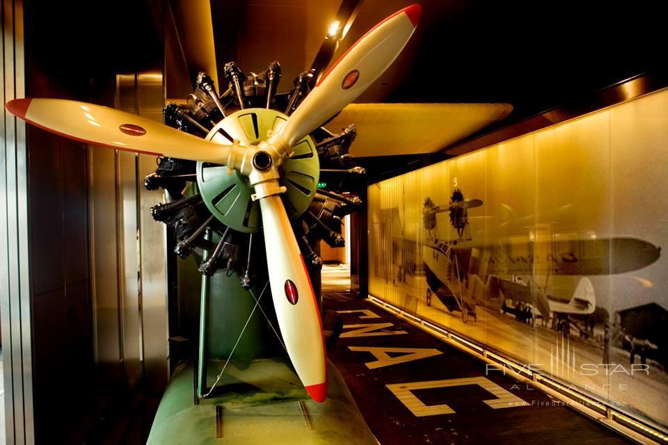 The Peninsula Shanghai Aviation Lounge