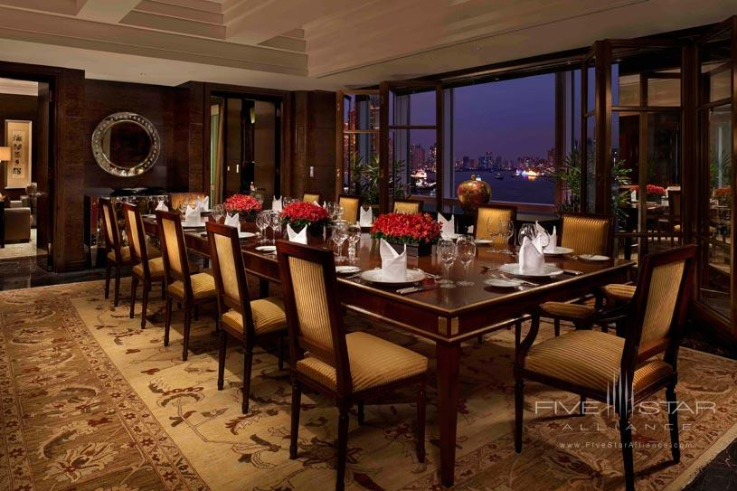 Dining Area of Peninsula Suite