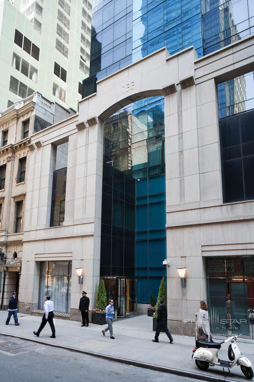 Exterior of Premier Hotel New York