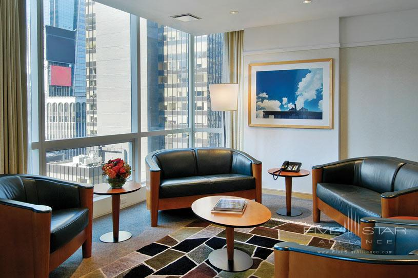 Sitting Area at The Premier Hotel New York