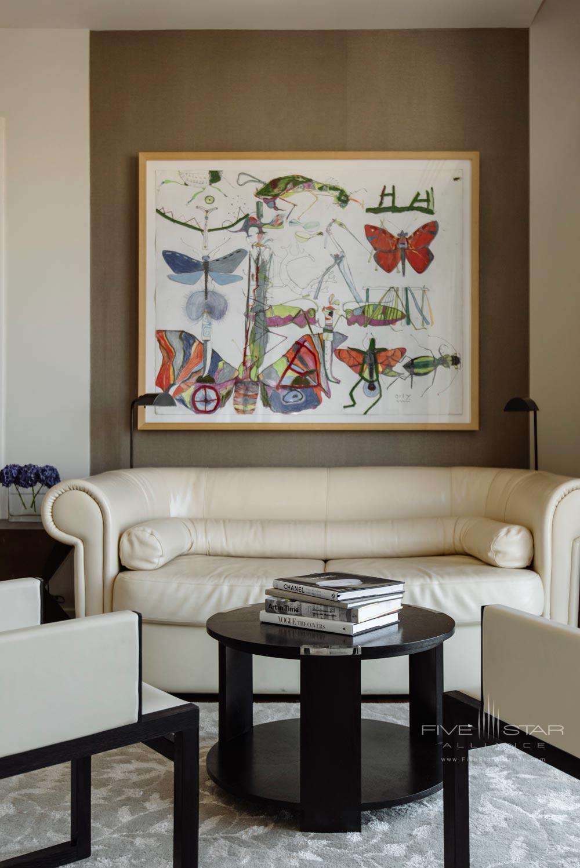 Level Nine Luxury Suite Sitting Room at The Dupont Circle Hotel, Washington, DC