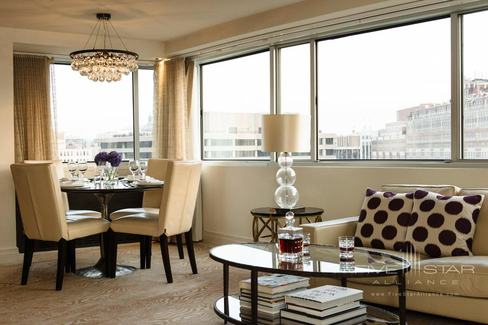 Level Nine Penthouse Living Room at The Dupont Circle HotelWashingtonDC
