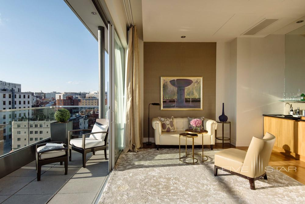 Level Nine Luxury Suite Terrace at The Dupont Circle Hotel, Washington, DC