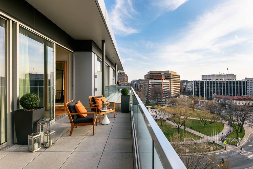Level Nine Penthouse Terrace at The Dupont Circle Hotel, Washington, DC