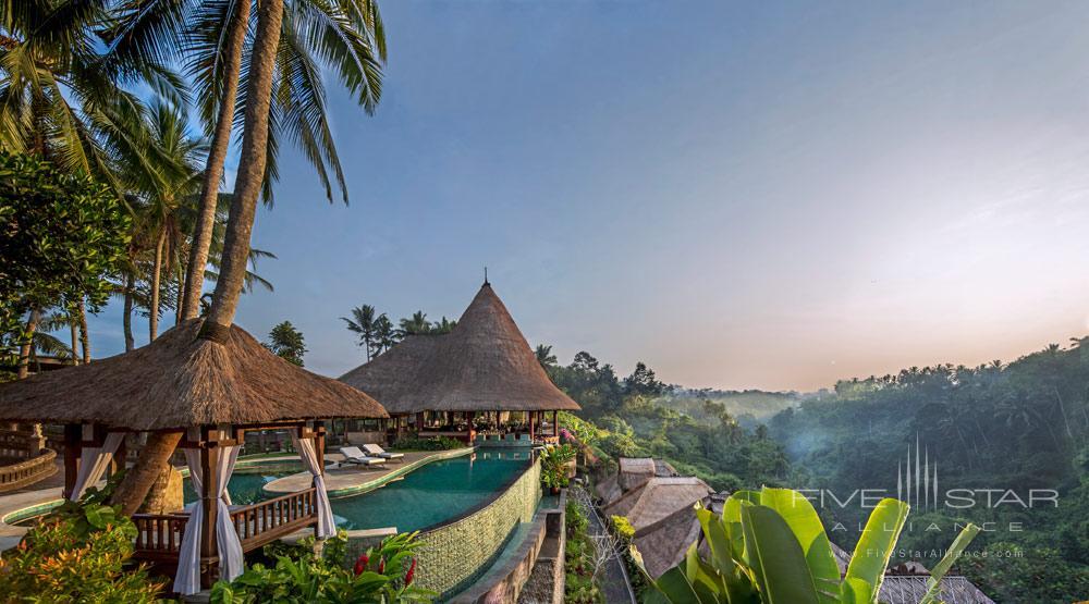 Enjoy beautiful sunrises at Viceroy Bali