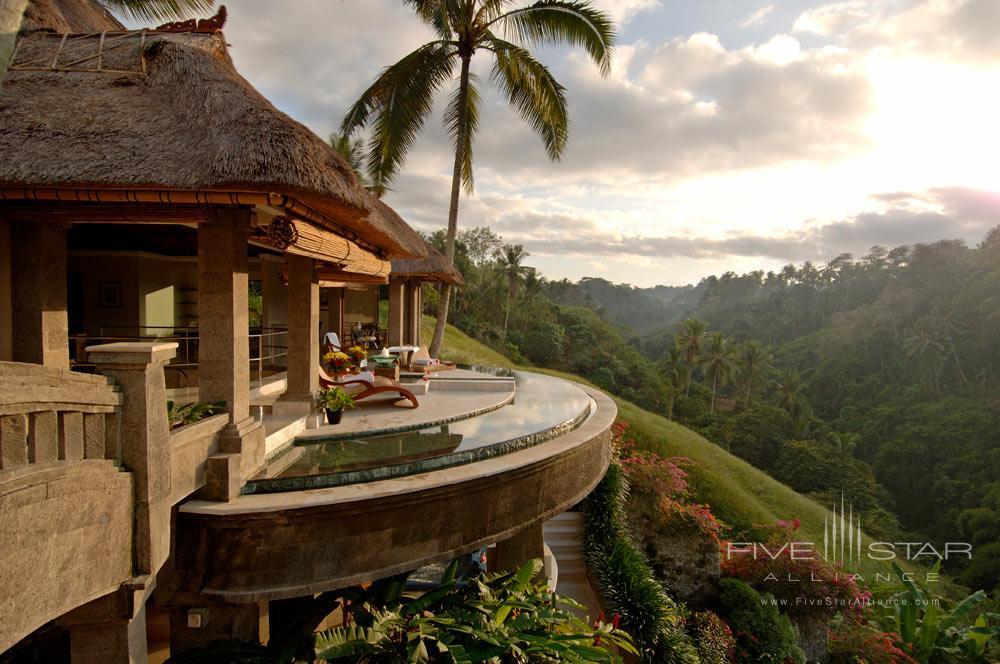 Exterior of The Lembah Spa at Viceroy Bali