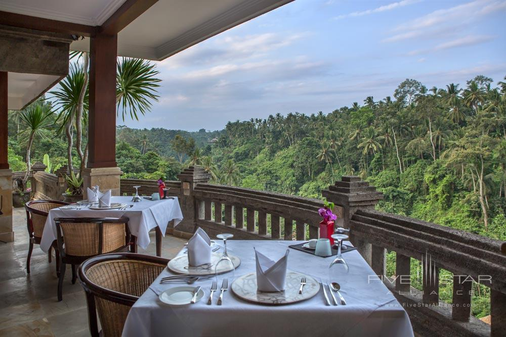 Partake in fine dining at Viceroy Bali Cascades Restaurant