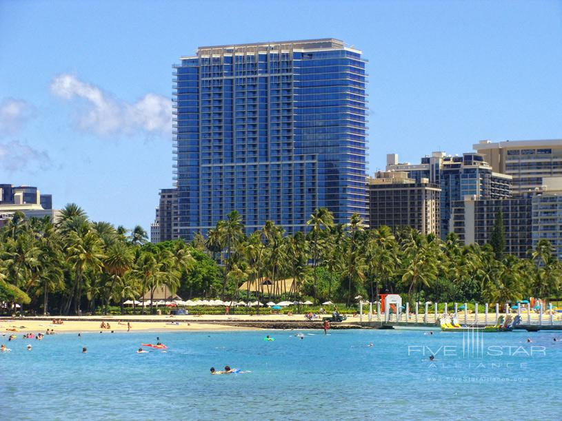Trump International Hotel and Tower Waikiki Beach Walk Exterior
