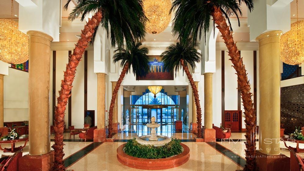 Lobby at Kempinski Hotel Ajman