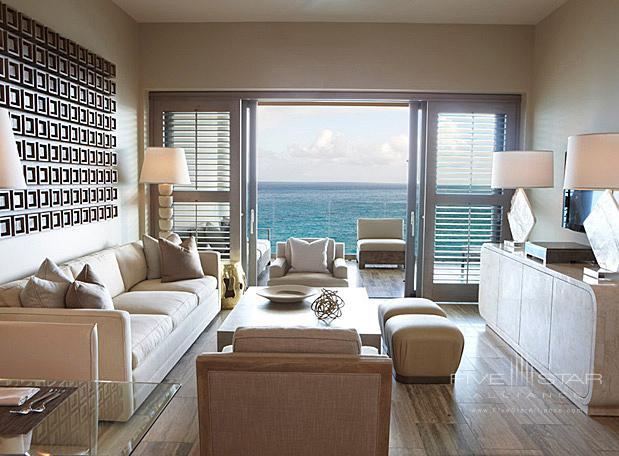 Suite Living Room at Four Seasons Resort Anguilla, Barnes Bay, Anguilla