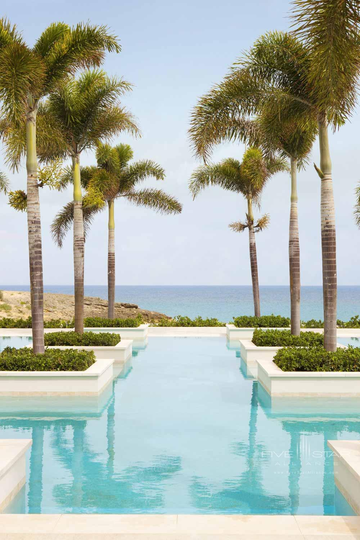 Outdoor Pool at Four Seasons Resort Anguilla, Barnes Bay, Anguilla