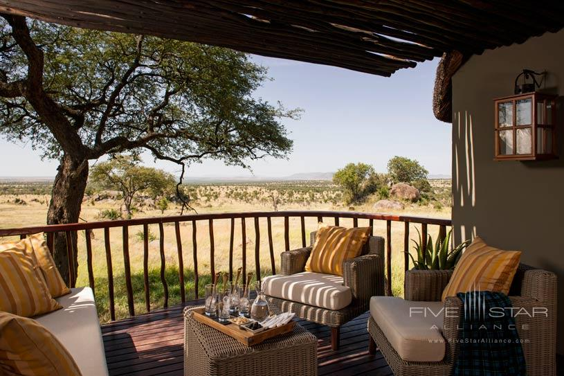 Terrace at Four Seasons Serengeti