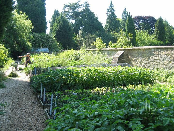 The Kitchen Garden at The Bath Priory Hotel Restaurant and Spa