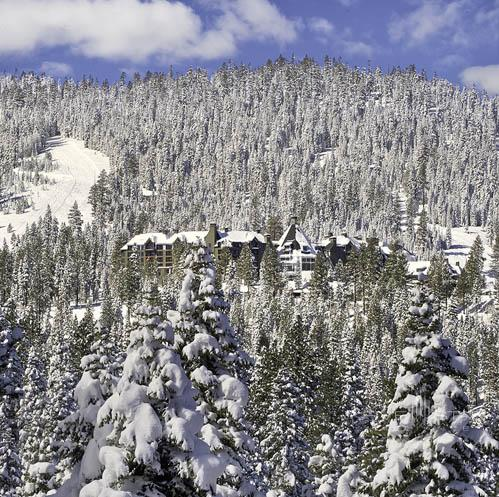 The Ritz-Carlton Lake Tahoe Exterior in Winter