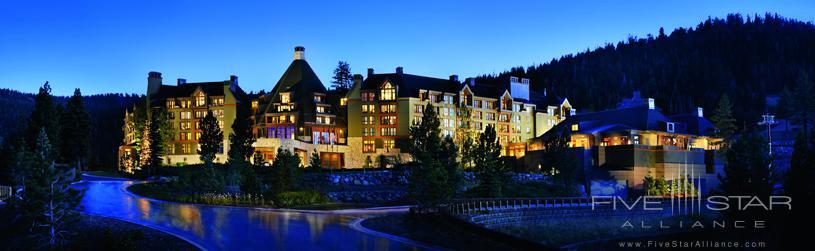 The Ritz-Carlton Lake Tahoe Exterior at Night