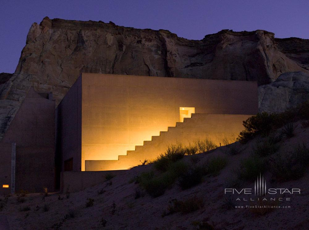 Aman Spa Entrance at Amangiri in Canyon PointSouthern Utah courtesy of Amanresorts