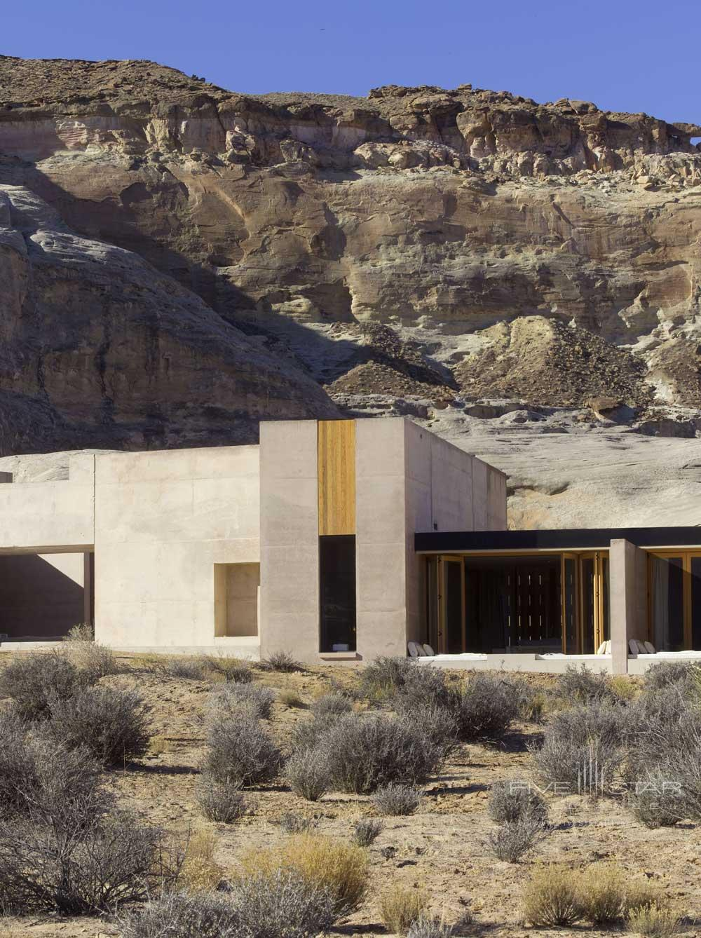 Exterior View of Amangiri in Canyon PointSouthern Utah courtesy of Amanresorts
