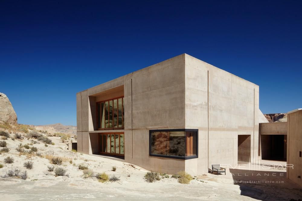 Fitness and Yoga Studio at Amangiri in Canyon PointSouthern Utah courtesy of Amanresorts