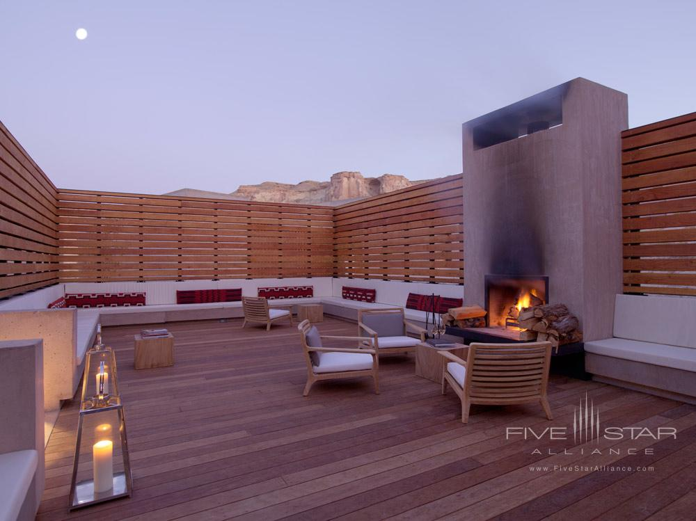 Story Telling Lounge at Amangiri in Canyon PointSouthern Utah courtesy of Amanresorts