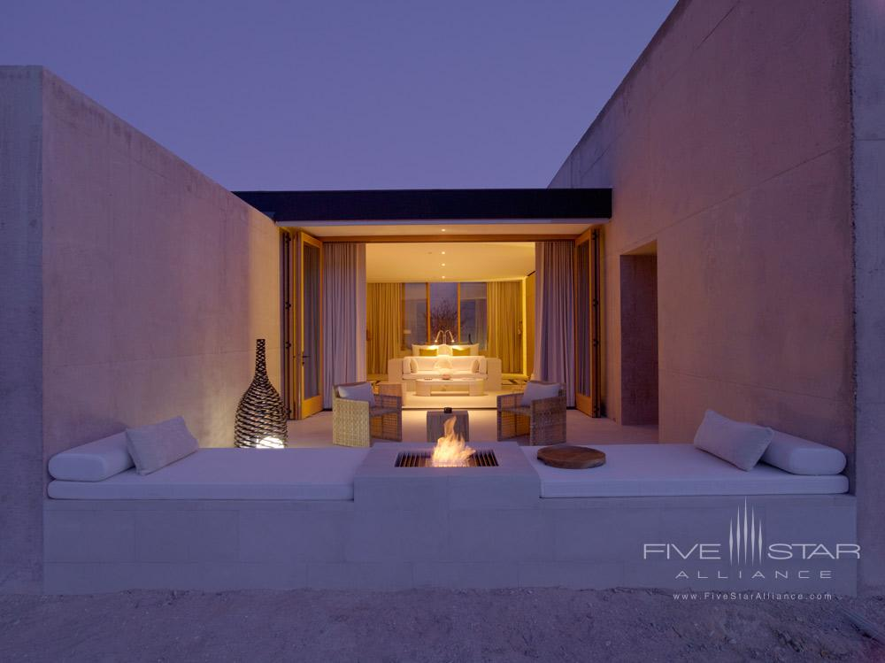 The Girijaala Suites Desert Lounge at Amangiri in Canyon PointSouthern Utah courtesy of Amanresorts