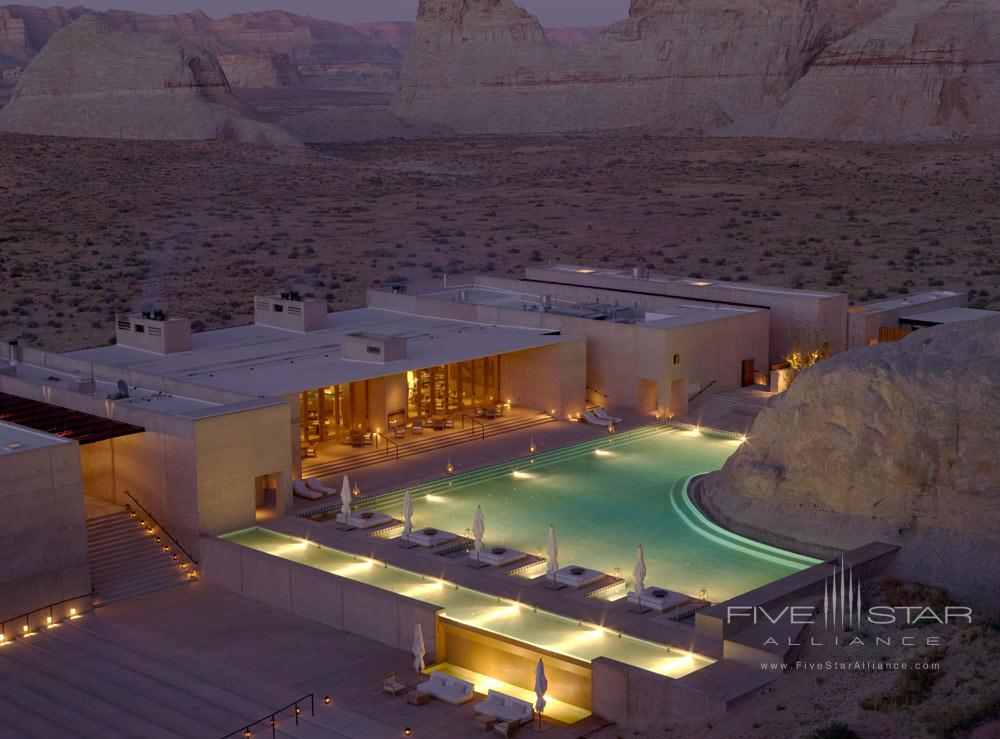 Aerial View of Amangiri in Canyon PointSouthern Utah courtesy of Amanresorts