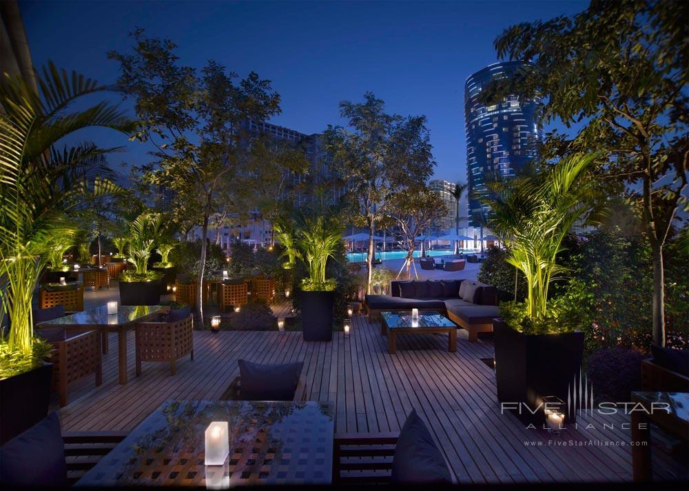 Outdoor Terrace at Grand Hyatt Macau