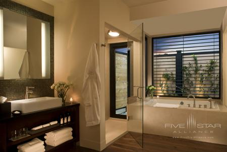 Guest Bath at Bardessono in Yountville, Napa Valley