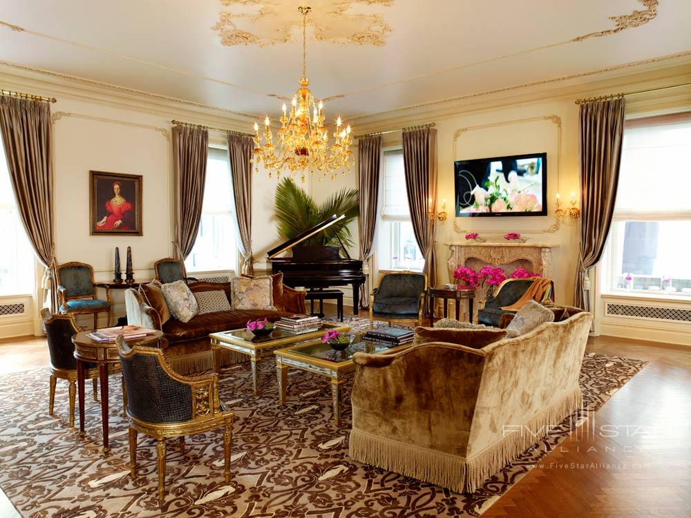 Suite Lounge at The Plaza New York