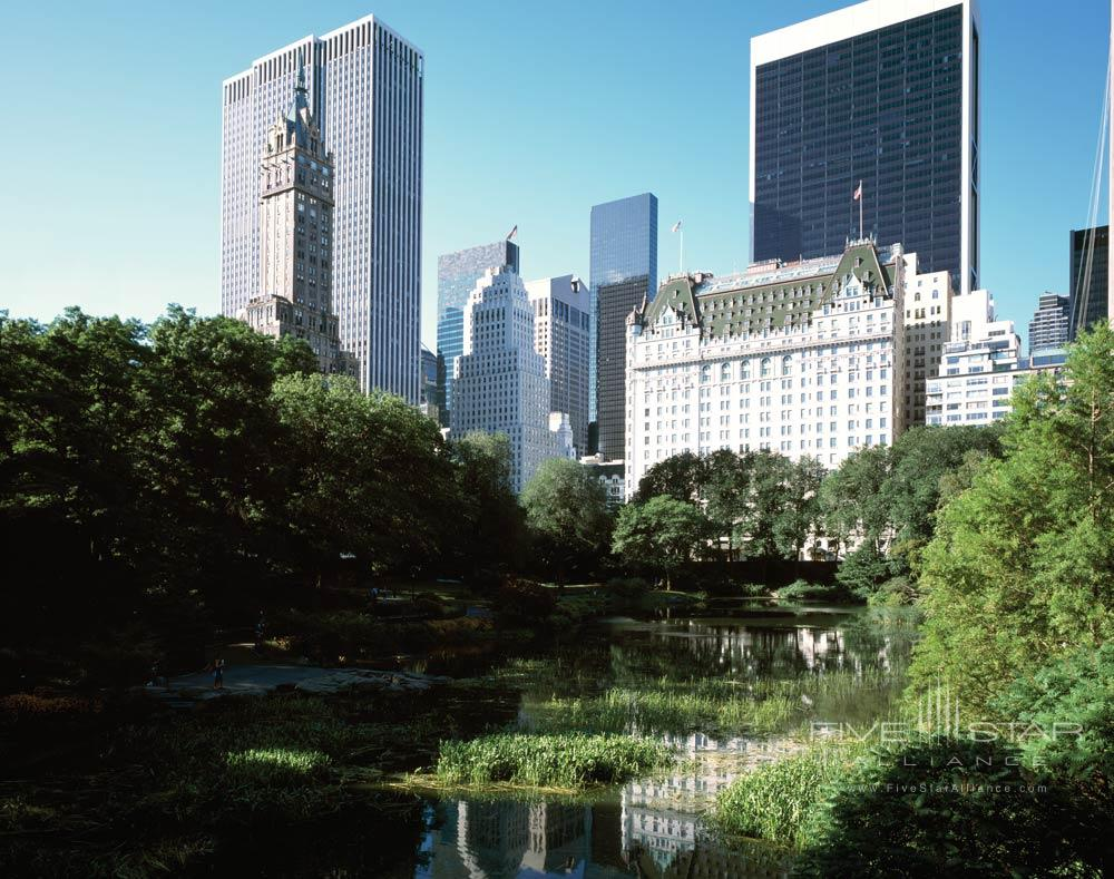 The Plaza Hotel New York View From Central Park