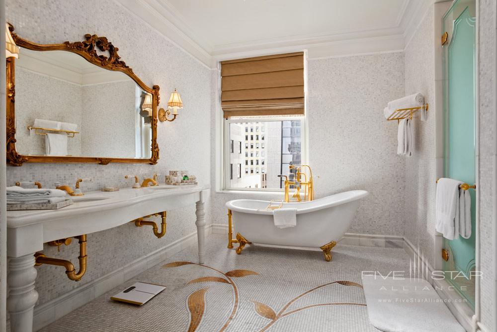 Suite Bath at The Plaza New York