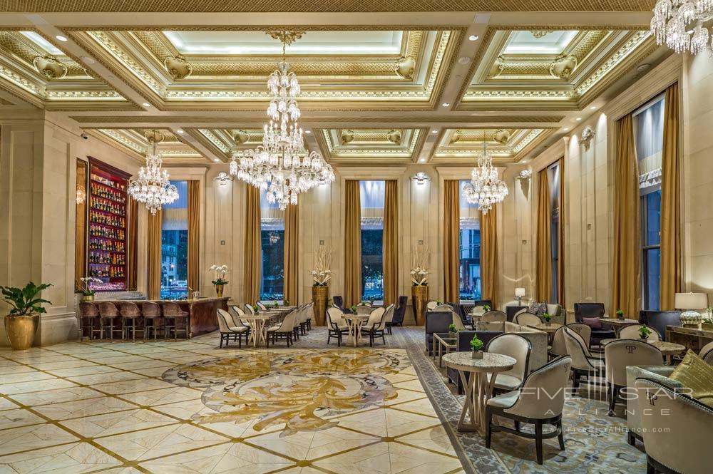 Lobby of The Plaza New York