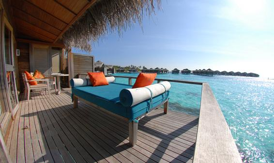 Anantara Veli Resort and Spa Over Water Bungalow