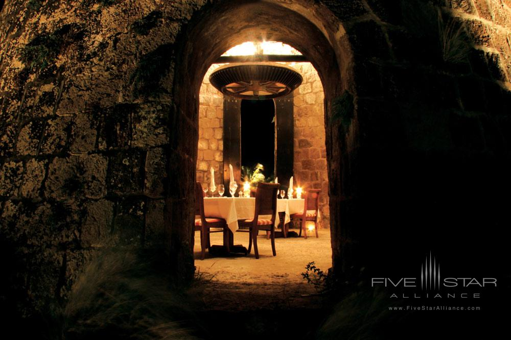 Dining at Montpelier Plantation Inn West IndiesSt. Kitts and Nevis