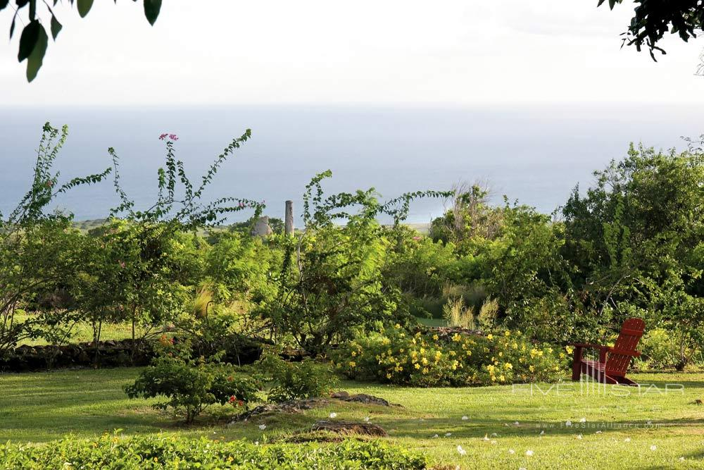 Resort Grounds at Montpelier Plantation Inn West IndiesSt. Kitts and Nevis