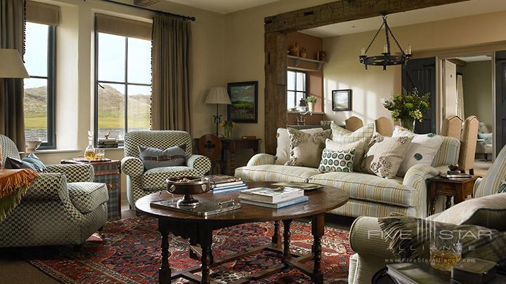 Suite Living Area at Trump International Golf Links and Hotel County Clare, Ireland
