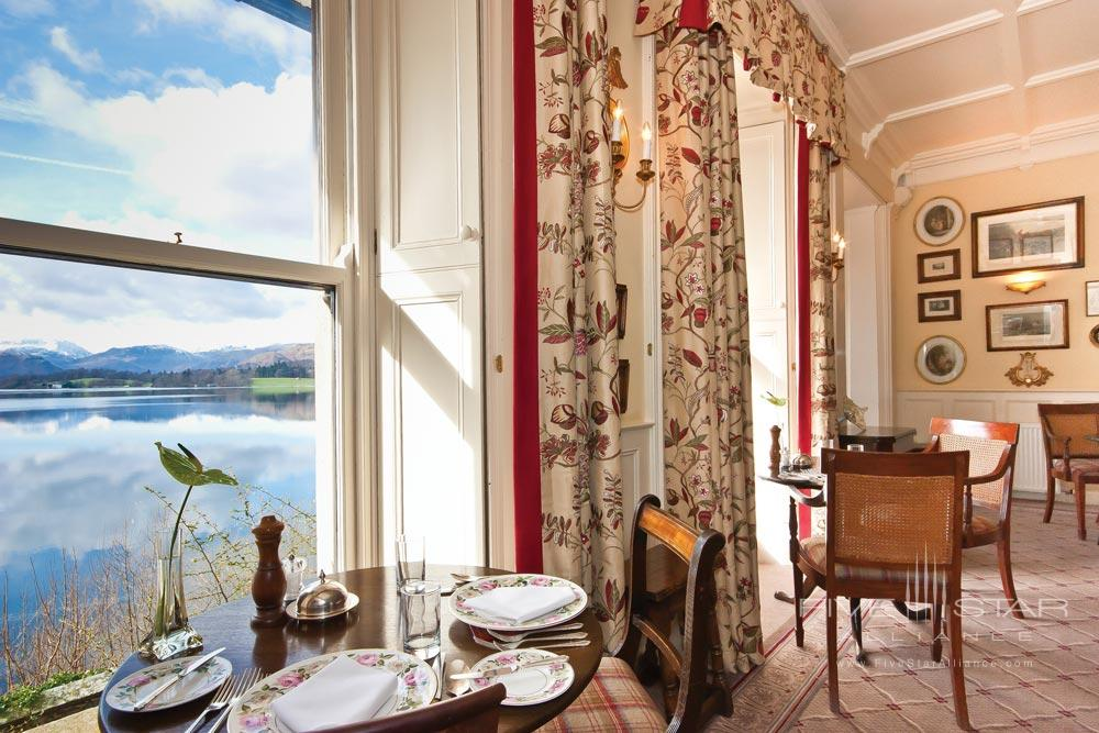 Dining Room at Sharrow Bay United Kingdom
