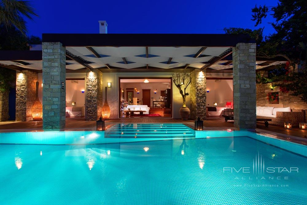 Pool at Porto Zante Villas and Spa ZakynthosGreece