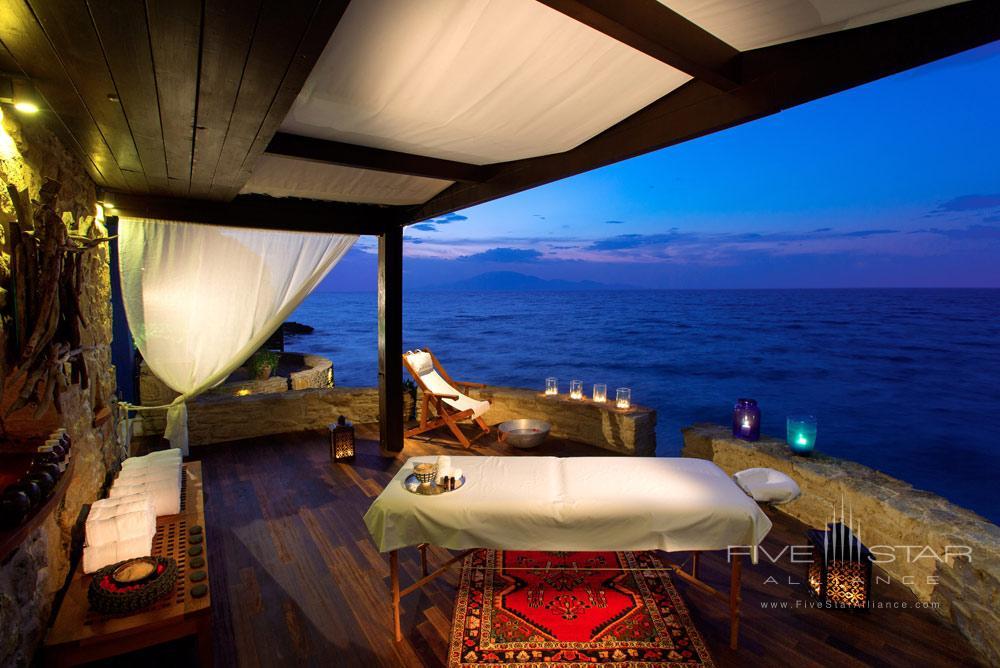 Massage by the Sea at Porto Zante Villas and Spa ZakynthosGreece